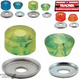 "TRACKER ""Superball"" Truck Bushings Skateboard Blue 82a, Orange 88a or Green 95a  Cushions Rubbers & Washers"